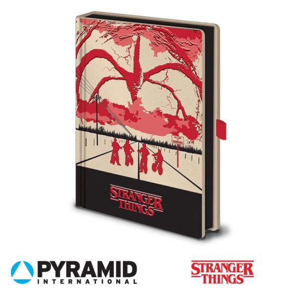 Pyramid - Тефтер Stranger Things 1