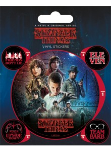 Комплект Стикери Stranger Things