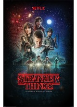Постер Poster Stranger Things Netflix