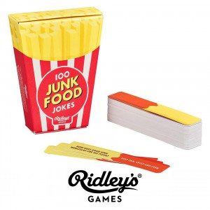 """Игра с карти """"Джънк храна"""""""