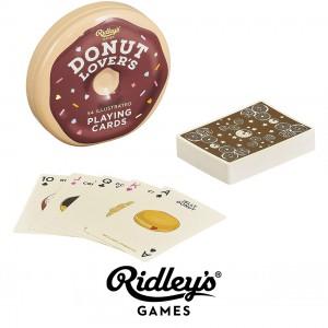 GME039 Donut lovers playing cards