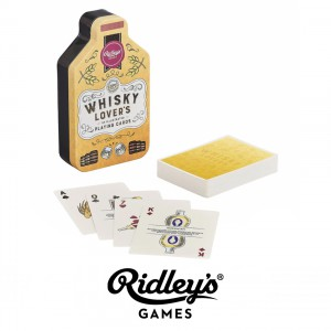 GME034 Whisky Lovers Playing Cards