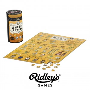 JIG042 Jigsaw puzzle - Whisky lovers