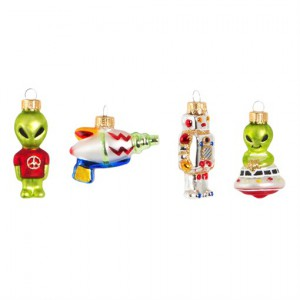 Tree decoration | Intergalactic UFO set of 4 | Sass & Belle