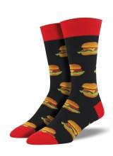 Чорапи Бургери в Черно 39-45