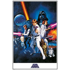Poster Star Wars A New Hope
