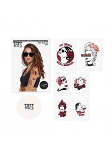 Комплект Временни Татуировки Кралицата на Бара 6 Броя