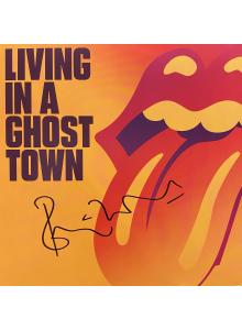 Тhe Rolling Stones сингъл с автограф от Рони Уд