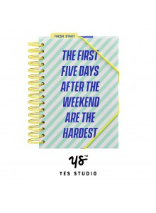 "Голям планер ""The First Five Days After The Weekend Are The Hardest"" YST212"