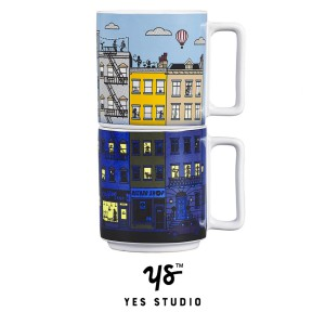 YAY005 Mugs - heat sensitive set - set 375ml