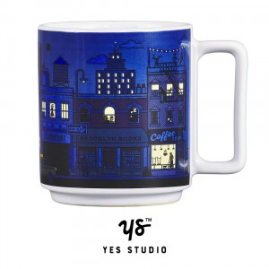 YAY003 Mug - heat sensitive New York