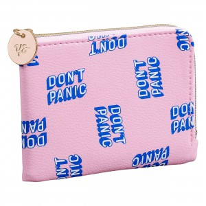 YST119 Coin Purse Don't Panic
