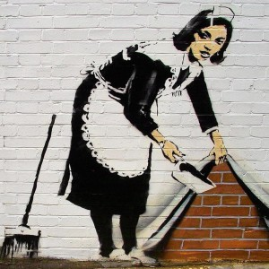 BANKSY style