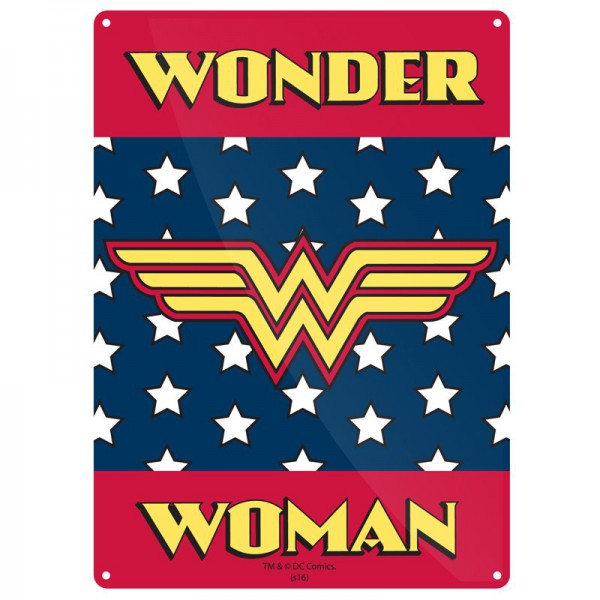 Метална табела A5 Wonder Woman 1