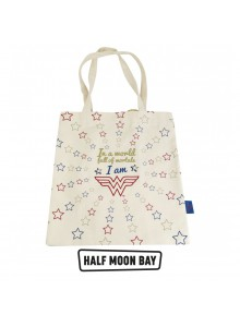 Памучна чанта Wonder Woman Stars
