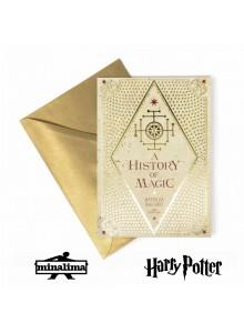 """Картичка """"История на магията"""" от Батилда Багшот"""