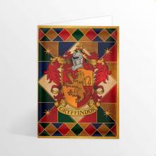 Картичка Хари Потър Гербът на Дома Грифиндор