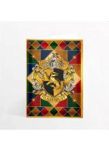 Картичка Хари Потър Гербът на Дома Хафълпаф