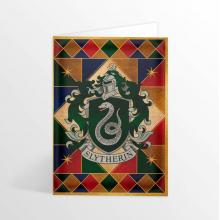 Картичка Хари Потър Гербът на Дома Слидерин