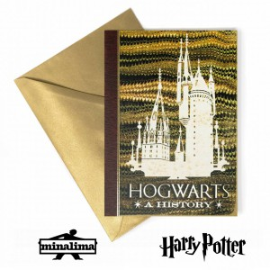 HPCARD24 Harry Potter Giftcard - Hogwarts a History картичка