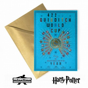 HPCARD39 Harry Potter Giftcard - Quidditch World Cup Poster