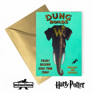 HPCARD43 Dung Bombs - Harry Potter