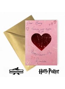 Картичка за Хари Потър Свети Валентин