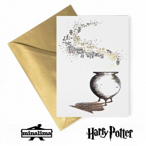HPCARD46 Harry Potter Giftcard - Advanced Potion-Making картичка