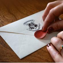 Комплект от 10 броя: Писмо за Приемане в Хогуортс Хари Потър