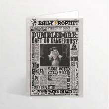 Лентикулярна Картичка Dumbledore - Draft of Dangerous?