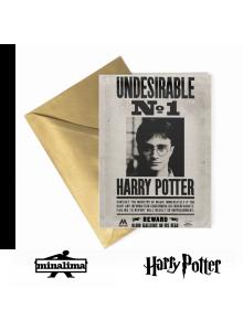 """Лентикулярна картичка """"Хари Потър нежелан No.1"""""""