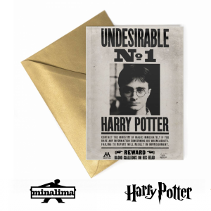Harry Potter Ministry Undesirable No.1 Lenticular Card
