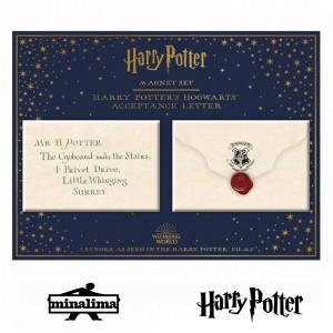 HPM05 Harry Potter - Acceptance Letter Magnet Set