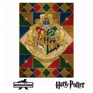 """Плакат """"Гербът на Хогуортс"""""""