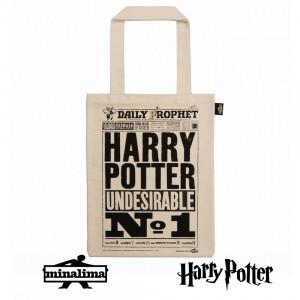 """Платнена торба """"Хари Потър е нежелан"""""""