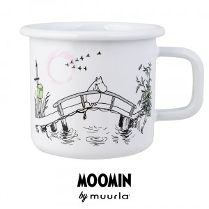Enamel Mug Moomin Missing You 370 ml.