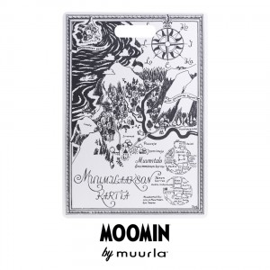 2716-3043-01 Chop and Serve Board - Moomin The Map 30x43