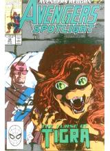 Комикс 1990-11 Avengers Spotlight 38