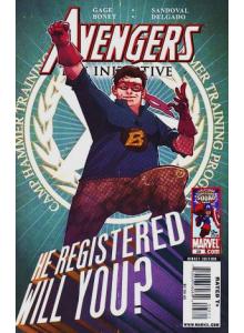 Комикс 2009-11 Avengers The Initiative 28