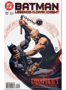 Комикс 1996-11 Batman Legends of The Dark Knight 88