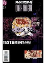 Комикс 2003-12 Batman Legends of The Dark Knight 172