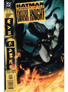 Комикс 2004-10 Batman Legends of The Dark Knight 182