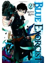 Манга | Blue Exorcist vol.02