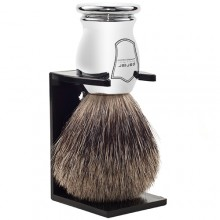 Parker Четка за Бръснене Pure Badger Сребристо