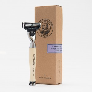 Finest Hand Crafted Safety Razor Captain Fawcett
