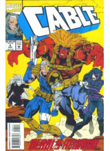 Комикс 1993-08 Cable 4