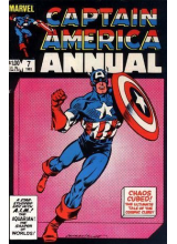 Комикс 1983 Captain America Annual 7