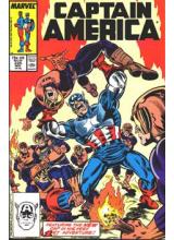 Комикс 1987-11 Captain America 335