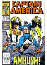 Комикс 1988-10 Captain America 346