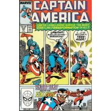Комикс 1989-07 Captain America 355